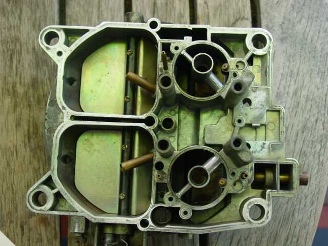 solex 4-barrel downdraft carburetor