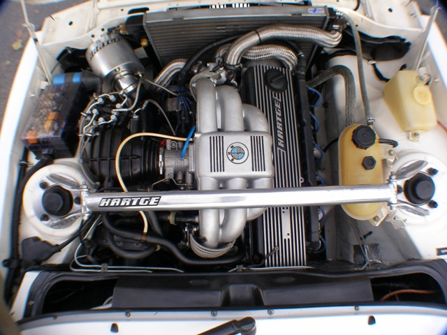 H Engine on Bmw 323i Radiator